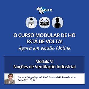 Curso Modular - Módulo VI - Noções de Ventilação Industrial