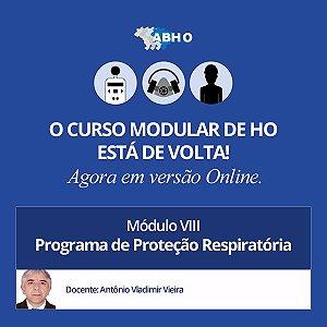 Curso Modular - Módulo VIII - Programa de Proteção Respiratória