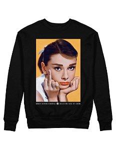 Moletom Audrey Hepburn