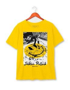 Camiseta Jackson Pollock Smile