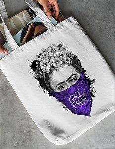 Ecobag Frida Kahlo GRL PWR