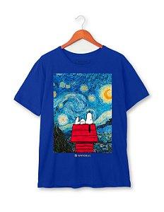 Camiseta Snoopy Noite Estrelada