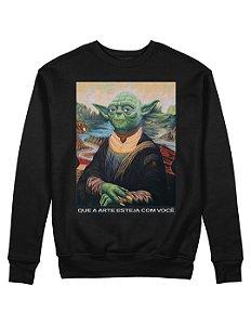 Moletom Yoda Lisa