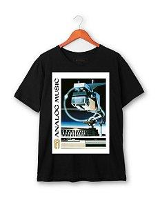 Camiseta Analogic Music