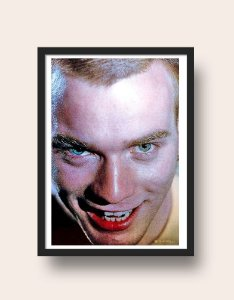 Quadro Mark Renton – Trainspotting