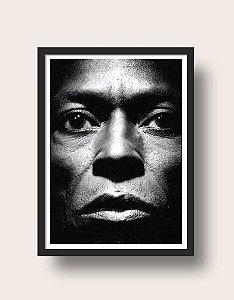 Quadro Miles Davis Retrato