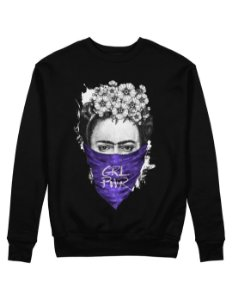 Moletom Frida Kahlo GRL PWR