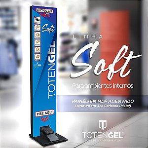 TOTENGEL SOFT - Dispenser para Alcool Gel acionado via Pedal