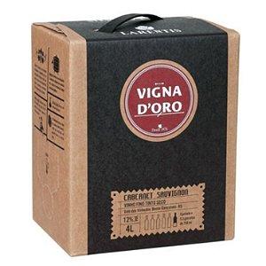Vigna Doro Bag in Box Cabernet Sauvignon 4ltrs
