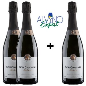 Combo Pague 2 Leve 3 Don Giovanni Nature 24 Meses 750ml
