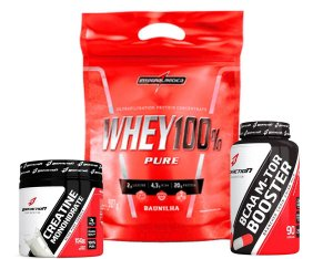 WHEY 100% PURE 907 GR (COMBO) - INTEGRAL MEDICA