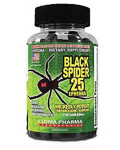 BLACK SPIDER 100 CÁPSULAS - CLOMA PHARMA