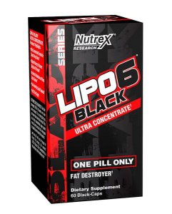 LIPÖ 6 BLACK ULTRA CONCENTRADO 60 CAPS - NUTREX
