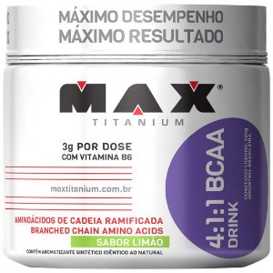 4:1:1 BCAA DRINK 280 GRAMAS - MAX TITANIUM
