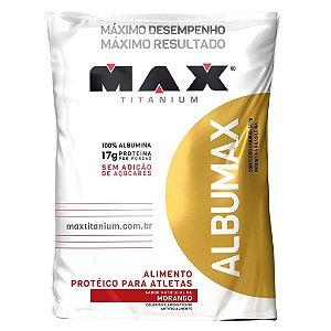 PROTEÍNA DA CLARA DO OVO MAX TITANIUM 500G - MAX TITANIUM