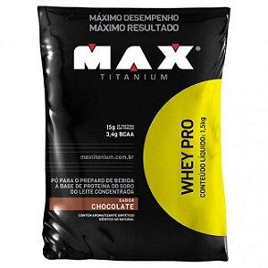 WHEY PRO 1.5 KG - MAX TITANIUM