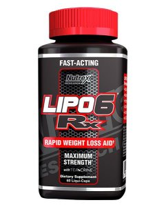 LIPO 6 RX 60 CAPSULAS - NUTREX