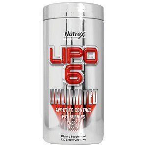 LIPO 6 ULIMITED 120 CAPSULAS - NUTREX