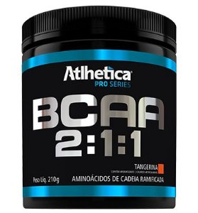 BCAA 2:1:1 210G - ATLHETICA NUTRITION