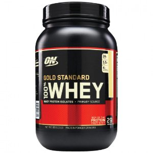 100% WHEY GOLD STANDARD 907 GRAMAS - OPTIMUM NUTRITION
