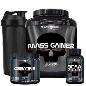 COMBO MASS GAINER 3KG - BLACK SKULL