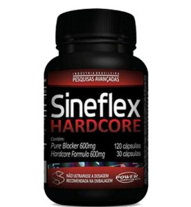 SINEFLEX HARCORE 150 CÁPSULAS - POWER SUPPLEMENTS