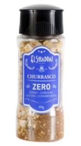 TEMPERO CHURRASCO ZERO 60 GR - EL SHADDAI