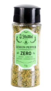 TEMPERO LEMON PEPPER 52 GR - EL SHADDAI