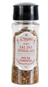 SAL DO HIMALAIA TEMPERADO MIX DE PIMENTAS MOEDOR 90 GR - EL SHADDAI