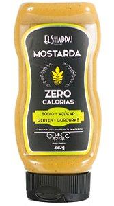 MOLHO MOSTARDA ZERO 440 GR - EL SHADDAI