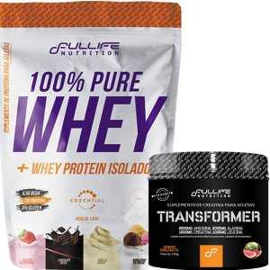 100% PURE WHEY 900 GR + TRANSFORMER 150 GR - FULLIFE NUTRITION