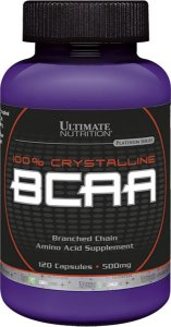 BCAA 500 MG 60 CÁPSULAS - ULTIMATE NUTRITION