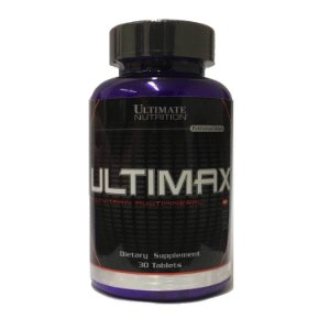 ULTIMAX MULTIVITAMINICO (30 CÁPSULAS) - ULTIMATE NUTRITION