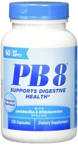 PB8 DIGESTIVE HEALTH 120 CÁPSULAS - NUTRITION NOW