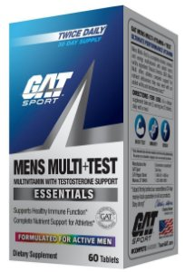 MENS MULTI TEST 60 TABLETS - GAT