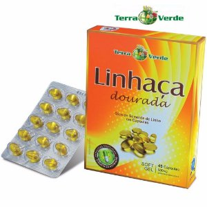 LINHAÇA DOURADA 500 MG 45 CÁPSULAS - TERRA VERDE