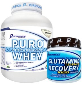 COMBO BLACK PURO WHEY 2KG - PERFORMANCE