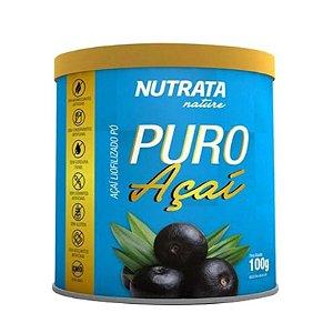 PURO AÇAI 100 GR - NATURE NUTRATA