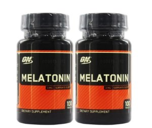 KIT 2 UNIDADES MEL... 3 MG 100 CÁPSULAS - OPTIMUM NUTRITION