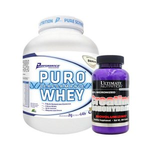 PURO WHEY 2KG + CREA ULTIMATE 300 GR