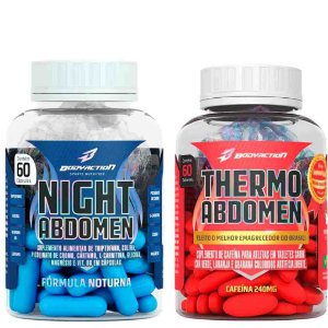 COMBO EMAGRECIMENTO THERMO ABDOMEN + NIGHT ABDOMEN - BODYACTION