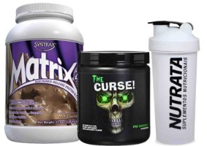 MATRIX 2.0  900 GR + THE CURSE 50 DOSES (NACIONAL) + BRINDE