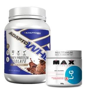 ADAPTO WHEY 900 GR + GLUTAMINA 300 GR