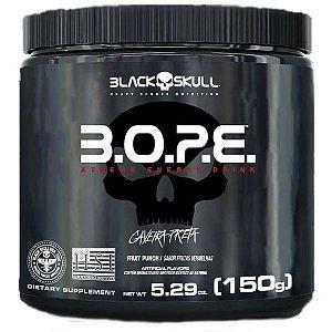 PRÉ TREINO BOPE 150G - BLACK SKULL - FRUTAS AMARELAS