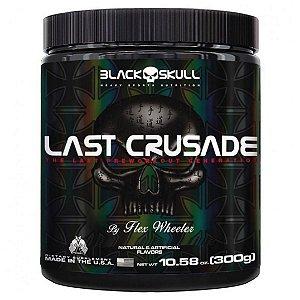 PRÉ TREINO LAST CRUSADE 300G - BLACK SKULL - LIMÃO COM PIMENTA