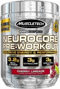 NEUROCORE PRE-WORKOUT 45 DOSES - MUSCLETECH