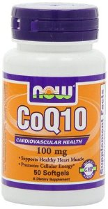 COQ10 100 MG 50 SOFGELS - NOW FOODS