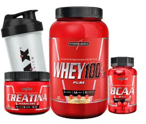 COMBO INTEGRAL MEDICA 100% WHEY