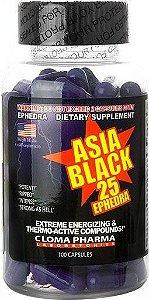 ASIA BLACK 100 CÁPSULAS - CLOMA PHARMA