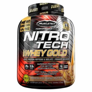 NITRO TECH 100% WHEY GOLD (2500G) -  MUSCLETECH